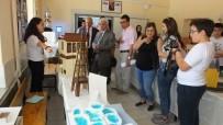 Burhaniye'de Nadir Tolun Ortaokulu'nda Bilim Ve Sanat Sergisi Açıldı