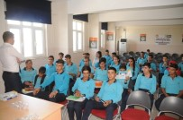 YEŞILAY CEMIYETI - Cizre'de Öğrencilere Yönelik Uyuşturucu Konferansı Devam Ediyor