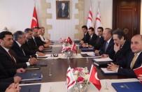 MUHALEFET PARTİLERİ - Cumhurbaşkanı Akıncı Ve Bakan Çavuşoğlu Heyetlerarası Görüşme Gerçekleştirdi