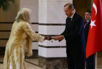 NIJER - Cumhurbaşkanı Erdoğan, Nijer Büyükelçisi Gazibo'yu Kabul Etti