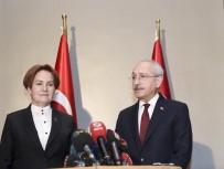 LALE KARABıYıK - Kılıçdaroğlu, Meral Akşener'le Bir Araya Geldi