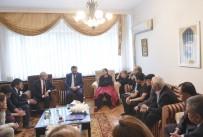 ADNAN KESKİN - Kılıçdaroğlu'ndan Şehit Generalin Ailesine Taziye Ziyareti