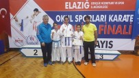 NEBIOĞLU - Malatyalı Karateciler 1 Altın 2 Gümüş Kazandı