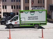 TÜRKIYE BELEDIYELER BIRLIĞI - TBB'den Hakkari Belediyesine Cenaze Aracı