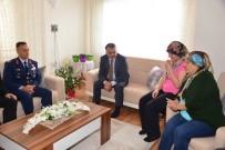 BALıKESIR MERKEZ - Vali Yazıcı'dan Şehit Ailesine Taziye Ziyareti