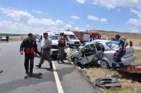 Yozgat'ta feci kaza: 1 ölü, 3 yaralı
