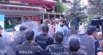ARBEDE - Ankara'da İzinsiz Eyleme Polis Müdahalesi