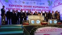 VURAL KAVUNCU - Bakan Eroğlu, Kütahya'da 8 Tesisin Temel Atma Törenine Katıldı, Vatandaşlara Sahur Yaptı