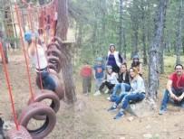 PAİNTBALL - Çamlıdere Aluçdağı'ndaki macera parkı büyük ilgi görüyor
