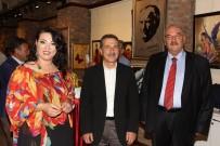 CEMAL ŞAHIN - Eskişehirli Ressam Tülin Onar Kişisel Resim Sergisini Açtı