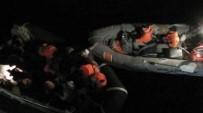 ERITRE - Güzelçamlı'da 24 Kaçak Göçmen Yakalandı