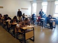 GİRİŞ BELGESİ - Kangal'da 500 Öğrenci Bursluluk Sınavına Girdi