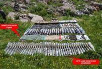 BEYTÜŞŞEBAP - Kato Dağı'nda Çok Sayıda Silah Ve Mühimmat Ele Geçirildi