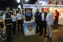 TOPLUM DESTEKLI POLISLIK - Kiraz Festivali'nde Emniyet Müdürlüğü Standı İlgi Gördü