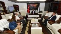 ORDUZU - Malatya Çevre Ve Şehircilik İl Müdürü Onhan, Başkan Gürkan'ı Ziyaret Etti
