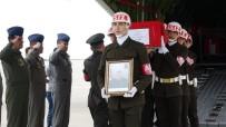 KENDIRLI - Rizeli Şehit Uzman Çavuş Soner Fazlıoğlu'nun Cenazesi Rize'ye Gönderilmek Üzere Askeri Uçakla Trabzon'a Getirildi