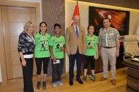 MEDENİYETLER - Türkiye Şampiyonu Zağnospaşa, Kafaoğlu'nu Ziyaret Etti