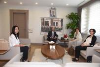 ÜLKER - AB Bakanlığı Heyeti'nden Vali Demirtaş'a Ziyaret