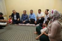 MEHMET TAHMAZOĞLU - Başkan Tahmazoılu, Ramazan Ayında Evlere Misafir Oldu