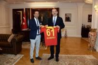 ORDUZU - Gevrek'ten Bakan Soylu'ya Evkur Yeni Malatyaspor Forması