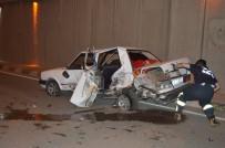 BILAL DOĞAN - İki Otomobil Çarpıştı Açıklaması 6 Yaralı