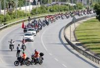 YUSUF KELLELI - Jandarma Ve Gönüllü Motosikletlilerin Muhteşem Korteji Sona Erdi