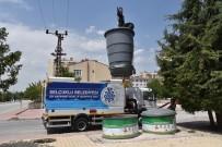 ÇÖP KONTEYNERİ - Selçuklu'da Çöp Konteynerlerinin Temizliği Yapılıyor