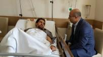 FAHRETTİN PAŞA - Vali Demirtaş'tan Saldırıya Uğrayan Müdür Yardımcısına Ziyaret