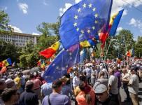 MOLDOVA - Yeni Seçim Sistemini Protesto Ettiler