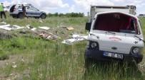Aksaray'da İki Kamyonet Çarpıştı Açıklaması 7 Yaralı