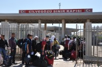 Bayramlaşmak İçin 25 Bin Kişi Suriye'ye Gitti