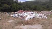 ZABITA MÜDÜRÜ - Bilecik'te Abbaslık Yolu Hafriyat Alanına Döndü