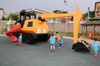 TRAFİK EĞİTİM PARKI - Çocukların Trafik Eğitimi Heyecanı Devam Ediyor