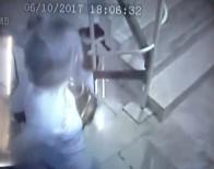 Depremden Kaçış Anları Güvenlik Kameralarında