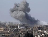 MUHALİFLER - Esed rejimi Dera'yı napalm ile vuruyor