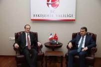 HıZLı TREN - Fransa'nın Ankara Büyükelçisi Fries, Vali Çelik'i Ziyaret Etti