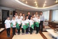 NEVZAT DOĞAN - Jimnastik Kulübünden Başkan Doğan'a Ziyaret