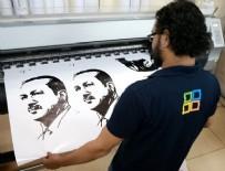 KATAR EMIRI - Katar'da Erdoğan posterlerine yoğun ilgi