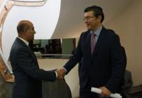 ADANA VALİSİ - Kazakistan Büyükelçisi Saparbekuli Adana Valiliğini Ziyaret Etti