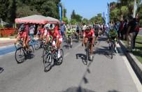 TÜRK TELEKOM - Manavgat'ta Bisiklet Yarışı Nefesleri Kesti