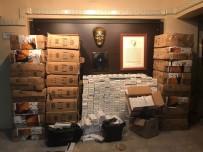 Mardin'de 83 Bin 750 Paket Kaçak Sigara Ele Geçirildi