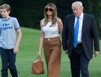 MICHELLE OBAMA - Melania Trump Beyaz Saray'a taşındı