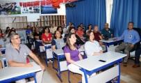 SAYGI DURUŞU - Muğla'da 12 Bin Meslektaşı Şehit Aybüke Öğretmeni Andı