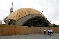 ABDÜLHAMİD HAN - Talas'ın En Farklı Camisinde Çalışmalar Devam Ediyor