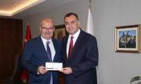 TÜRKIYE KALITE DERNEĞI - ATO Başkanı Baran'dan Çankaya Belediye Başkanı Taşdelen'e Ziyaret