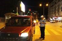 KURAL İHLALİ - Bafra'da Trafik Denetimleri