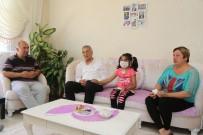 BÖBREK YETMEZLİĞİ - Böbrek Yetmezliğiyle Mücadele Eden Minik Kader'e Başkan Tarhan'dan Destek