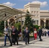 YALÇıN TOPÇU - Cumhurbaşkanı Başdanışmanı Topçu, Katar Büyükelçiliğini Ziyaret Etti