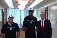 KUZEY KORE - Eski NBA Yıldızı Rodman, Kuzey Kore'de