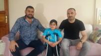 MUŞLU - İş Adamı Ümit Bay, Cam Kemik Hastası Samet'e Sahip Çıktı